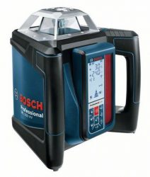 Bosch GRL500HV forgólézer falitartóval