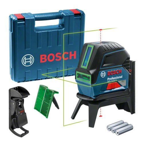 Bosch GCL 2-15 G Professional kombilézer (zöld fényű)