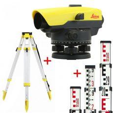 Leica NA532 optikai szintező csomag