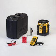 Stabila Önbeálló rotációs lézer LAR 350 REC 300 digitális vevőegységgel